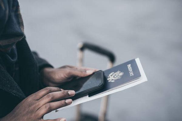 پاسپورت مشکی